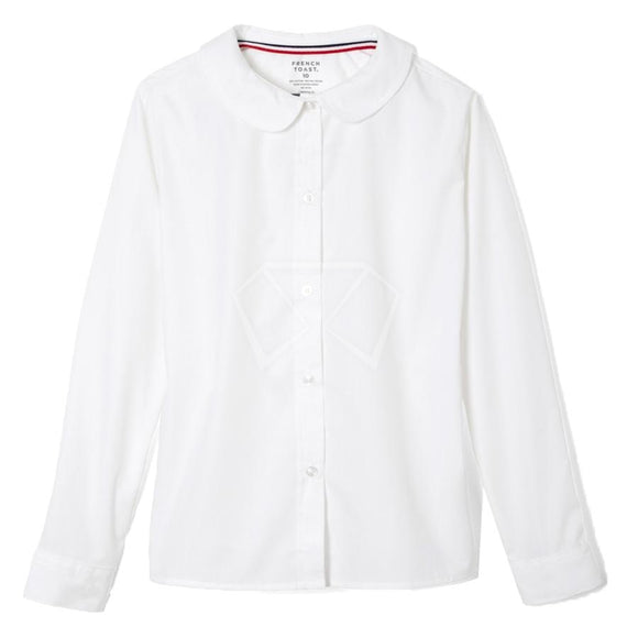 Girls French Toast Round Collar Blouse Girl