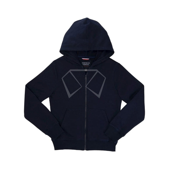 Boys French Toast Navy Hoodie Jackets