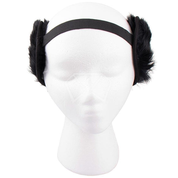 Mens Rubber Fur Ear Muffs