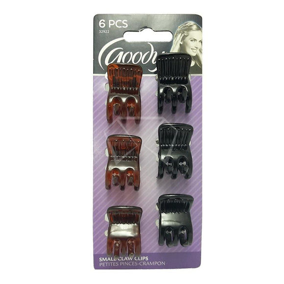 Goody Claw Clips - 6 Pk. Girls Accessories