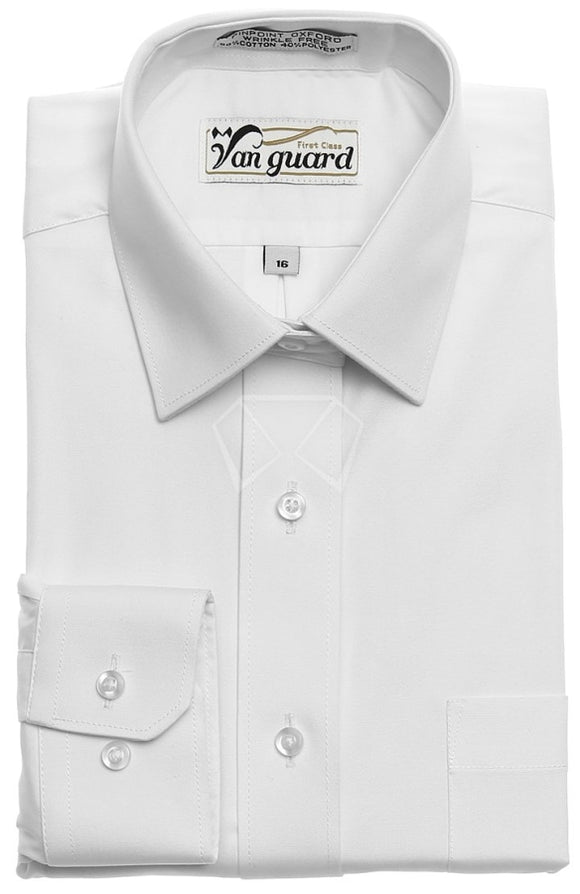 Boys Van Guard Pin Point Shirt Shirts