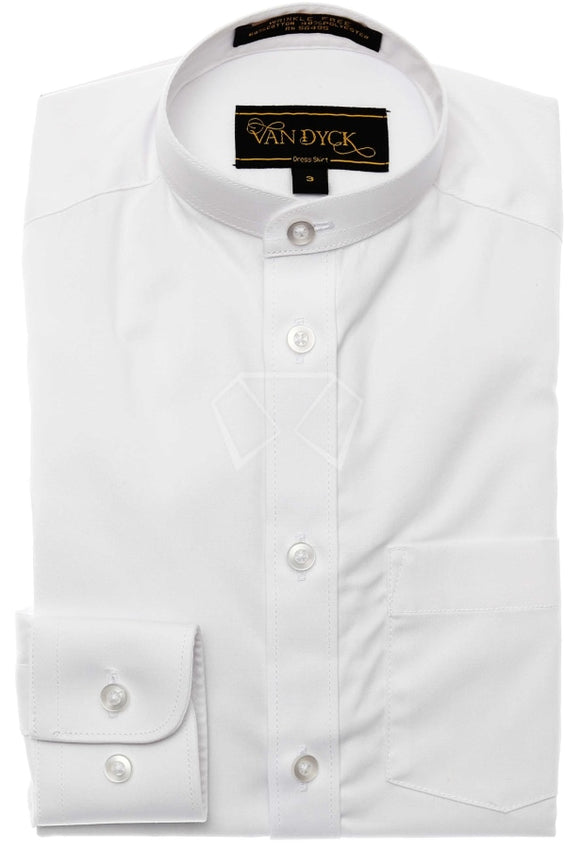 Boys (Royal Kids)Van Dyck Twill Up-Collar Shirt Shirts