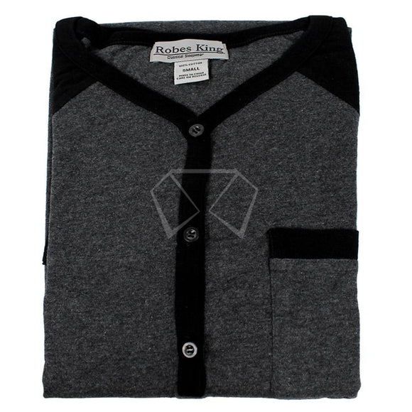 Mens Knit Night Shirt #4