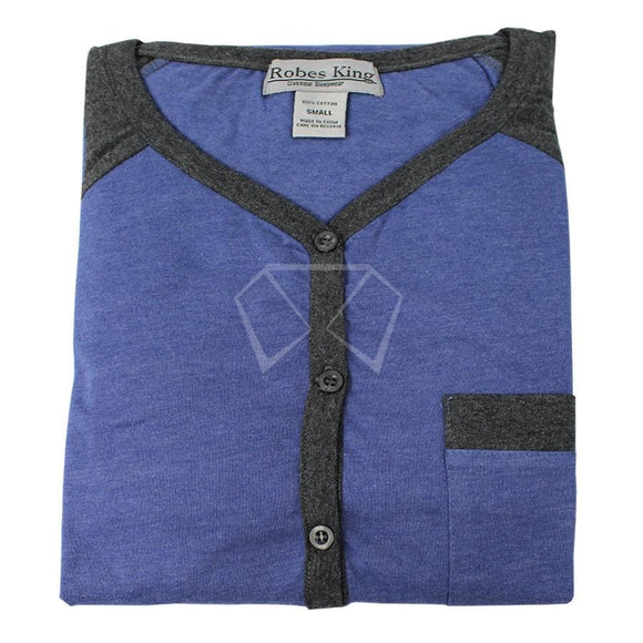 Mens Knit Night Shirt #5