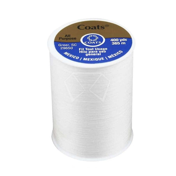 White Sewing Thread
