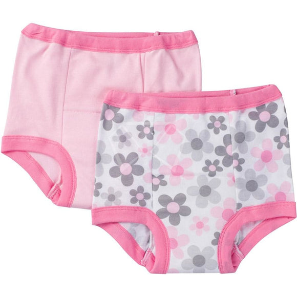 Gerber Training Pants - 2 Pk. Pink (Styles May Vary) / 18M Baby
