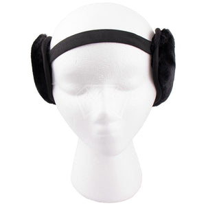 Mens Rubber Velour Ear Muffs
