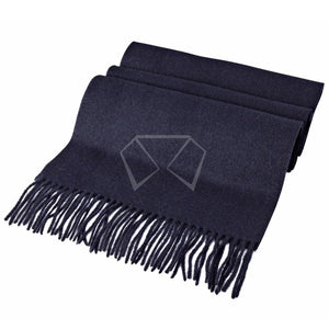 Mens Valentini Navy Wool Scarf #9900