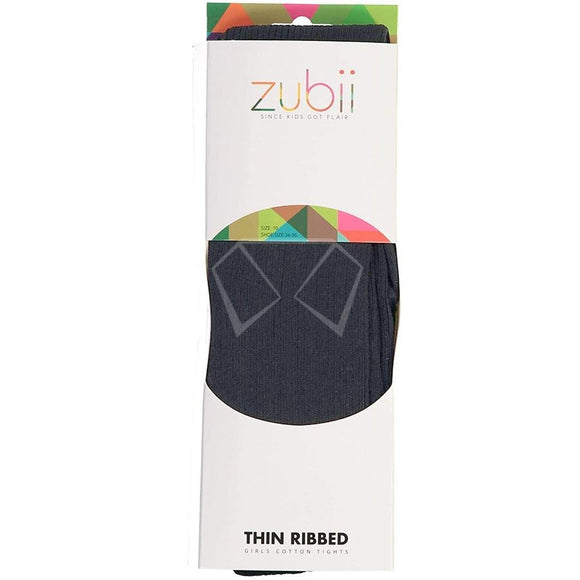 Zubii Cotton Ribbed Tights
