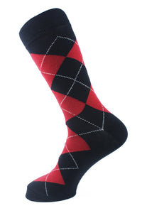 Argyle Men Socks - Assorted - 9 Pack