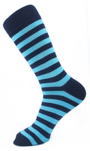 Load image into Gallery viewer, Striped Men Socks - Assorted - 7 Pack