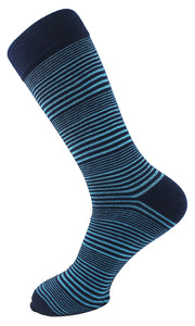 Striped Men Socks - Assorted - 7 Pack