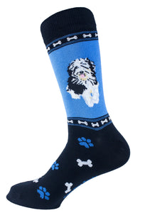 Aussiedoodle Dog Socks Mens Signature
