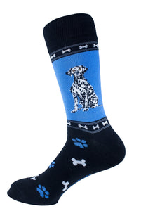 Dalmatian Dog Socks Mens Signature