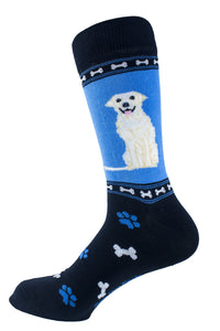Labrador retriever Yellow Dog Socks Mens Signature