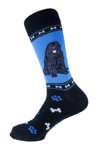 Newfoundland Dog Socks Mens Signature