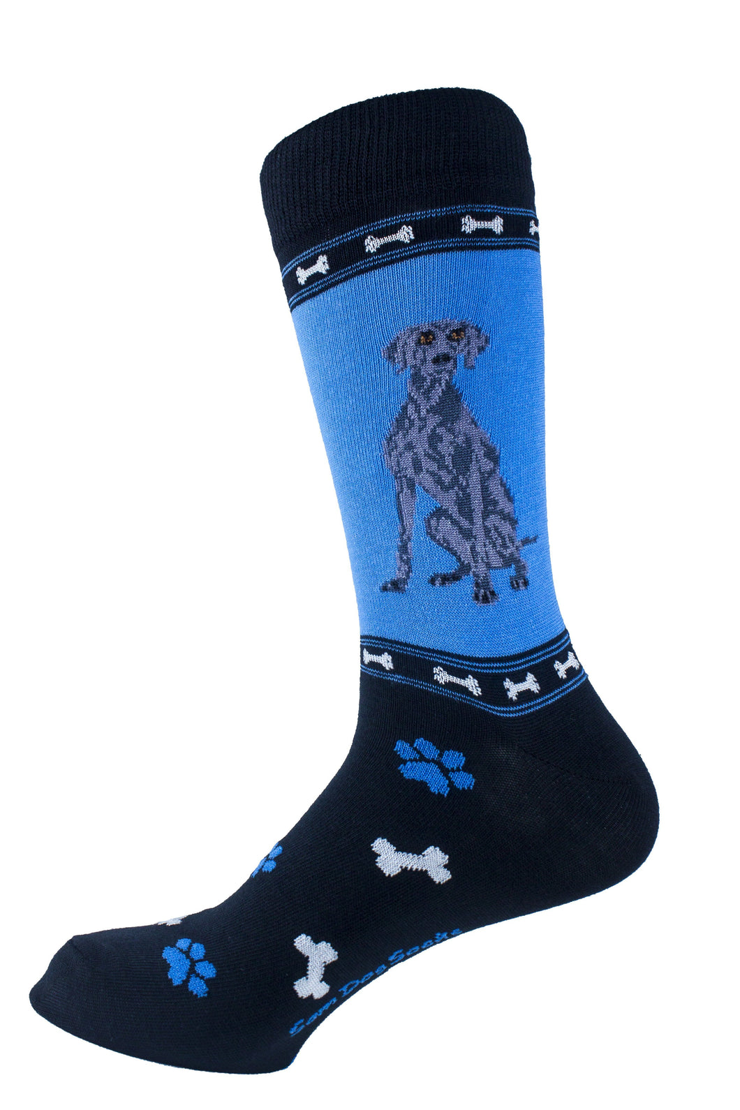 Weimaraner Dog Socks Mens Signature