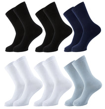 Load image into Gallery viewer, Plain Women Socks - Assorted - 6 Pack