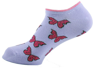 Ankle Socks Women Butterfly - samnoveltysocks.com