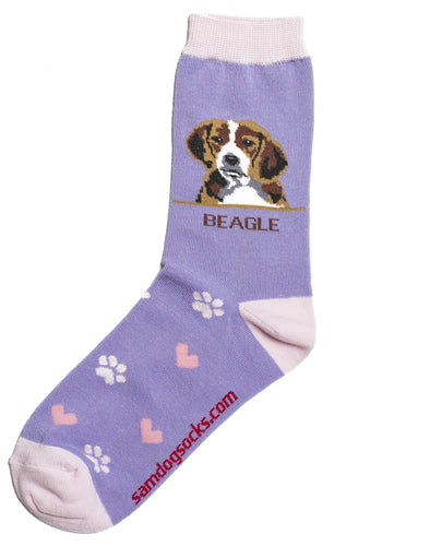 Beagle dog Socks - samnoveltysocks.com