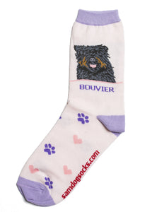 Bouvier des Flandres Dog Socks - samnoveltysocks.com
