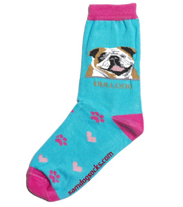 Bulldog Socks - samnoveltysocks.com