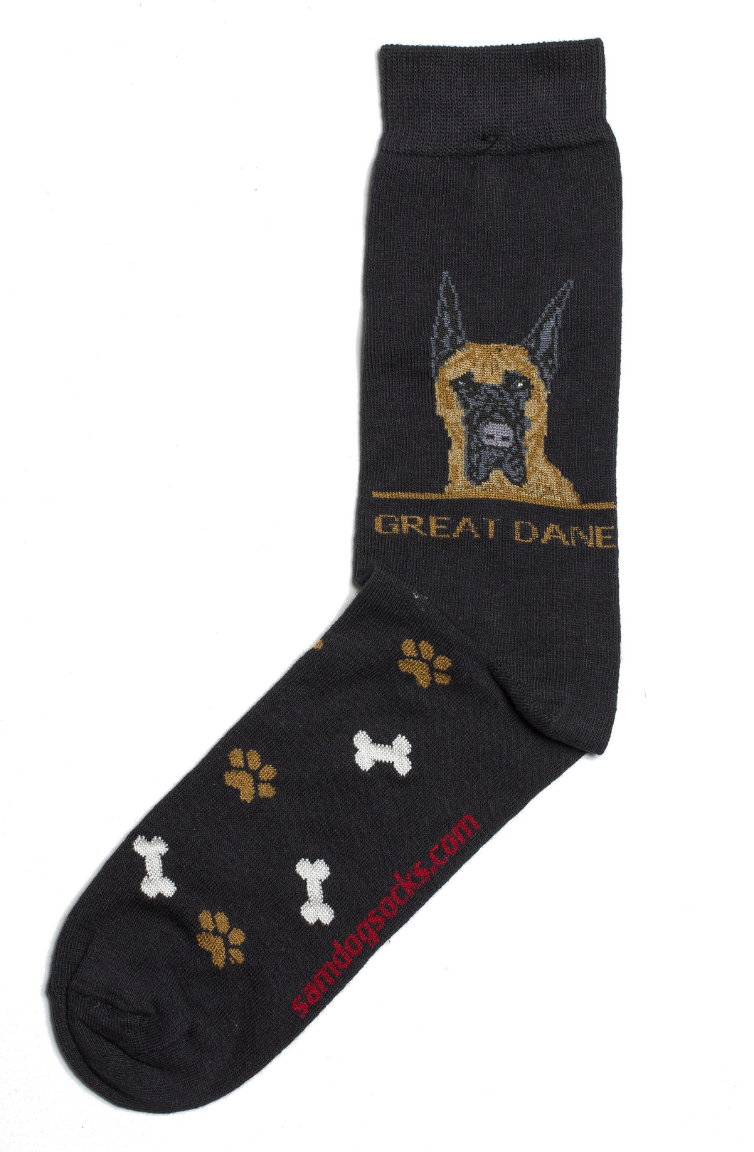 Great Dane Dog Socks Mens - samnoveltysocks.com