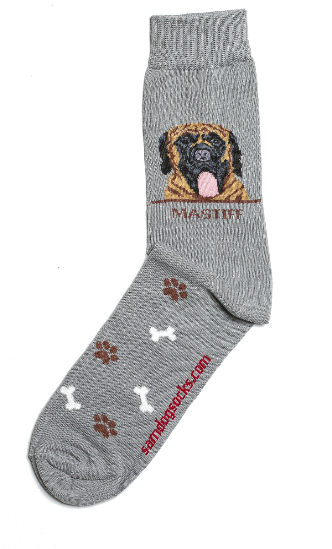 Mastiff Dog Socks Mens - samnoveltysocks.com