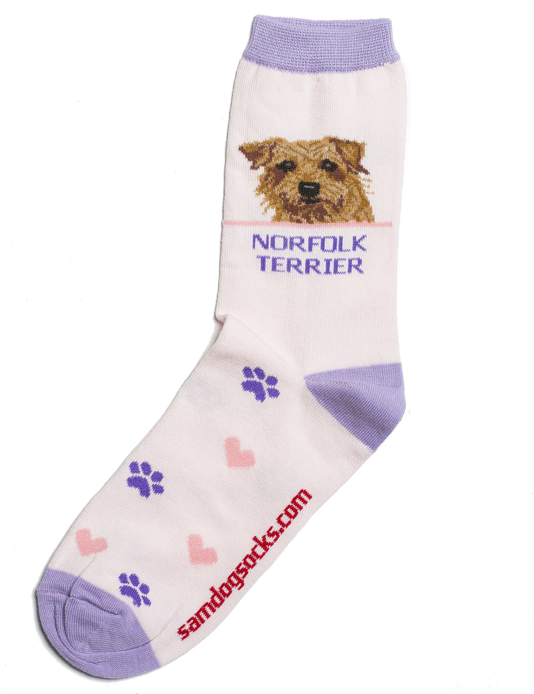 Norfolk Terrier Dog Socks - samnoveltysocks.com