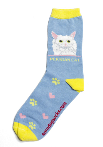 Persian Cat Socks - samnoveltysocks.com