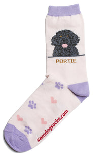 Portuguese Water Dog Socks - samnoveltysocks.com