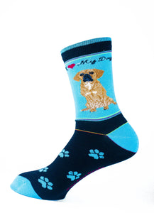 Puggle Dog Socks Signature - samnoveltysocks.com