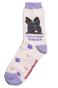Scottish Terrier Dog Socks - samnoveltysocks.com