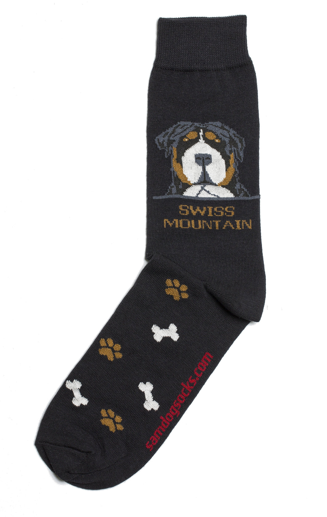 Swiss mountain Dog Socks Mens - samnoveltysocks.com