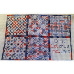 Stitch your own Chessboard in DMC Coloris threads
