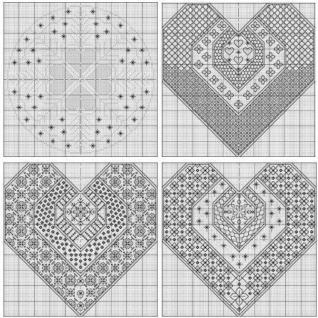 Blackwork Designs in Metallic - Chart Only from DoodleCraft Design