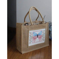 Cross stitch Tulip Panel for Jute Bag