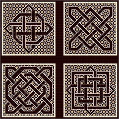 DoodleCraft Minis counted cross stitch and blackwork kits £4 each or 3 for £10