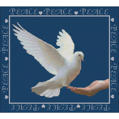 Peace - Cross stitch kit