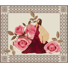 Cross stitch of Rose Fairy