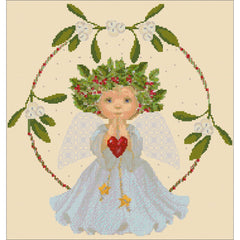Cross stitch Christmas Angel kit from DoodleCraft Design