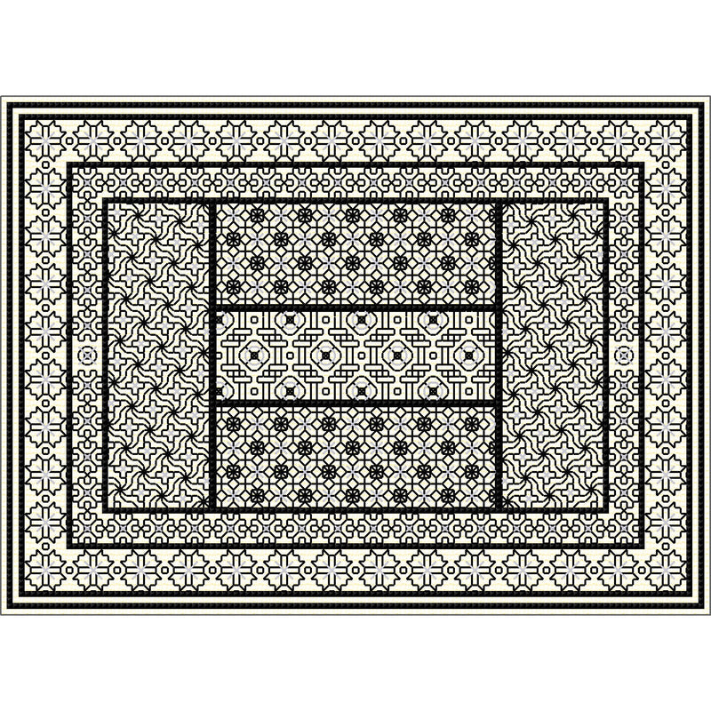 Stitched Blackwork Panel kit from DoodleCraft Design