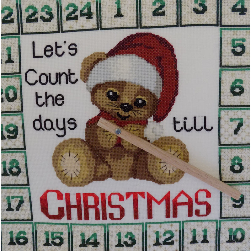 Advent Clock - Let's count the days till Christmas