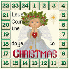 An Advent clock to replace the more traditional  advent calanders. Design by DoodleCraft Design