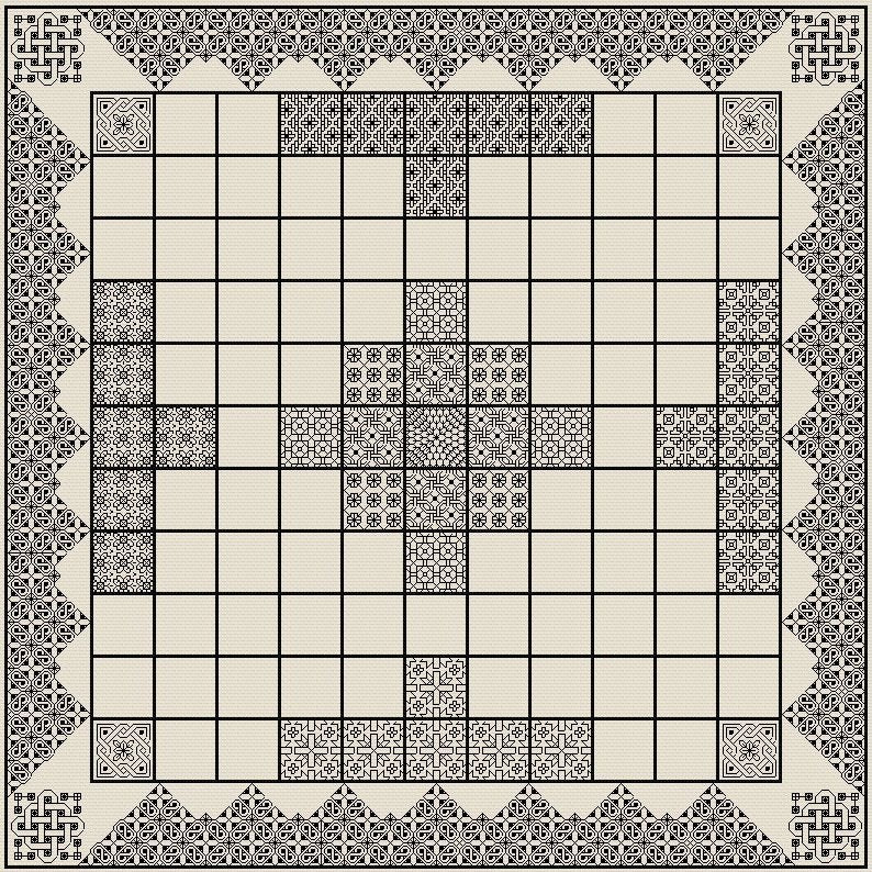 Hnefatafl Board (King's Table)