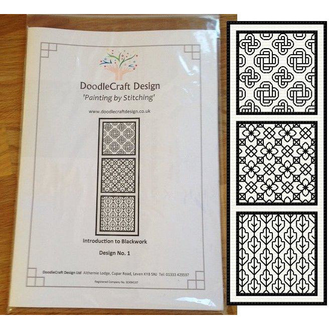 Introduction to Blackwork kit from DoodleCraft Design