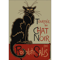 Cross stitch Le Chat Noir from DoodleCraft Design