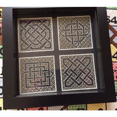 Blackwork Celtic Knot Minis from DoodleCraft Design