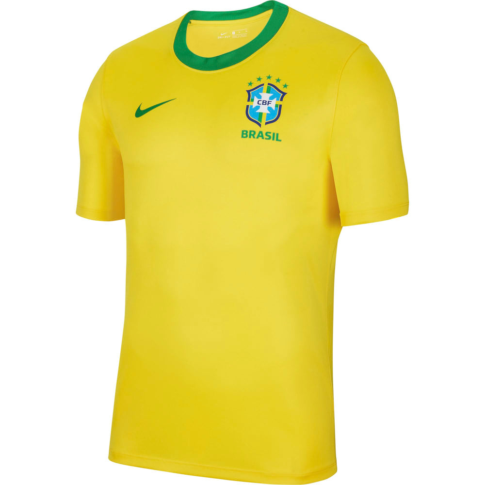 Nike Brasil Home Men's Short-Sleeve Soccer Top