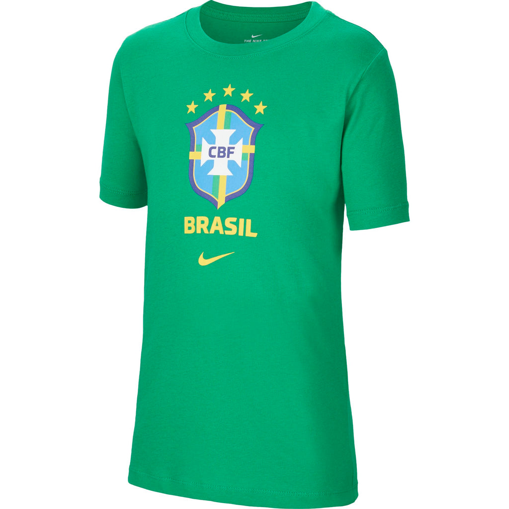 Nike Brasil Big Kids' Short-Sleeve Soccer Top (Youth)
